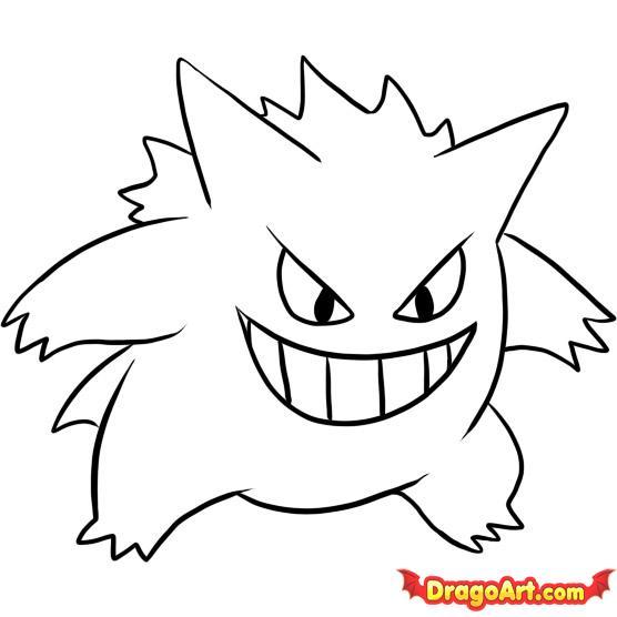 Drawn amd pokemon Step Draw 5 by Pokemon