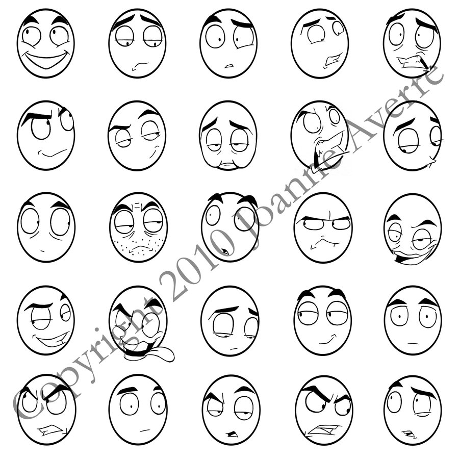 Drawn expression chart #1