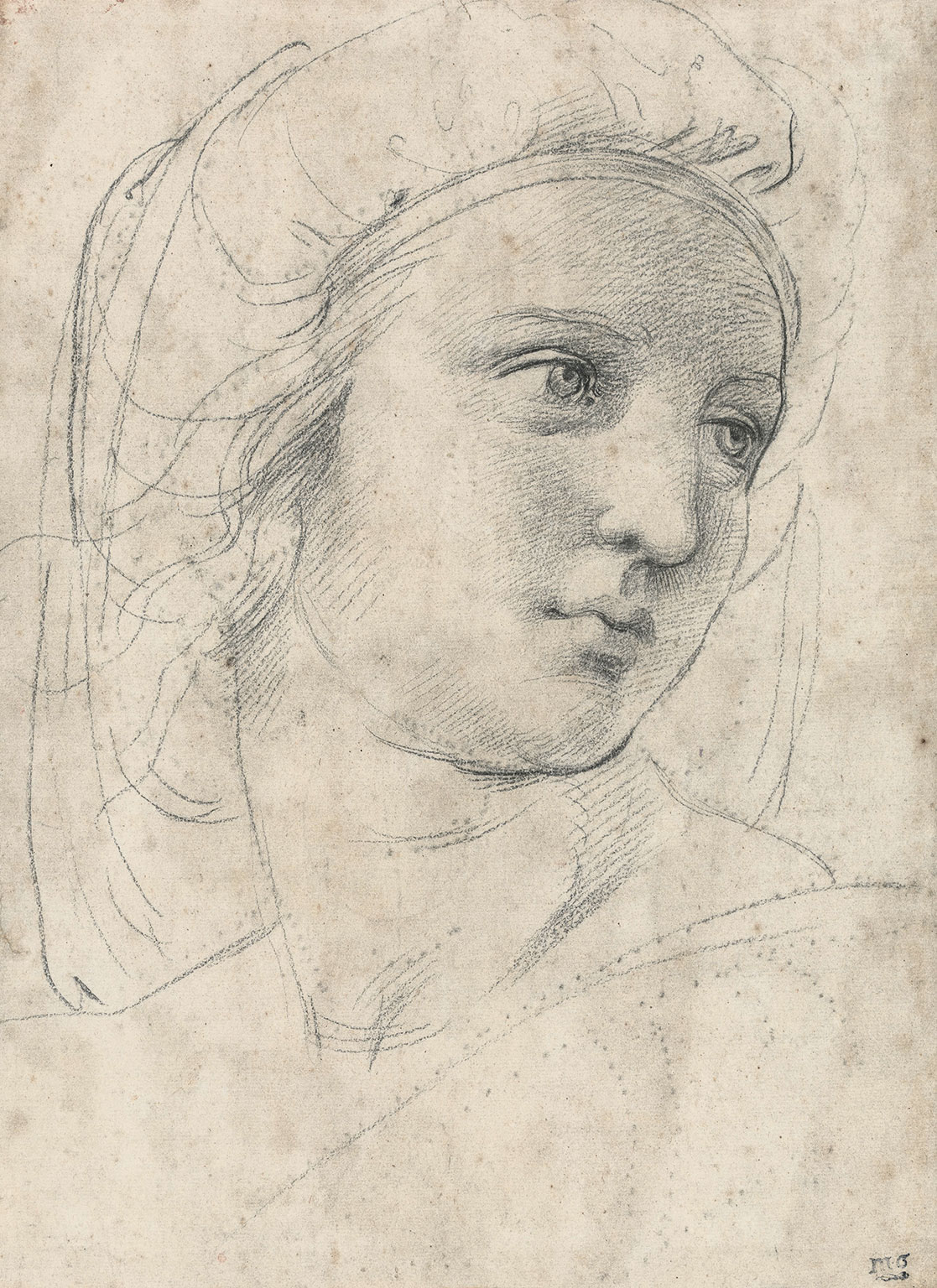 Drawn expression Drawings The at Raphael Museum