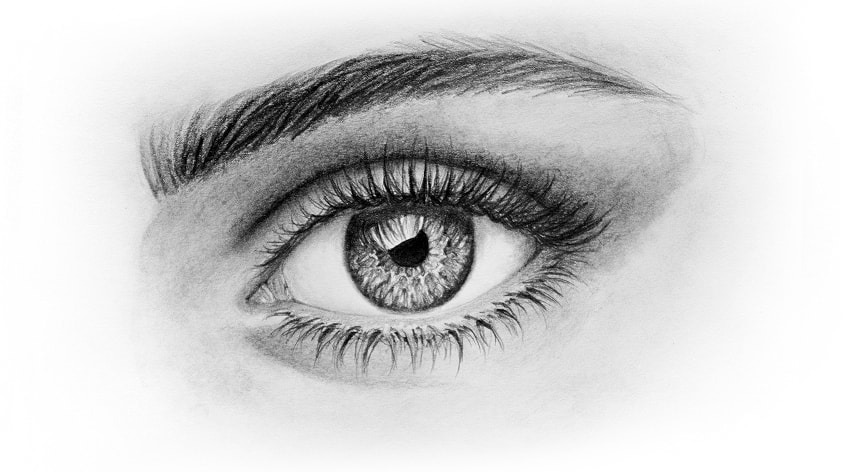 Drawn eye Eye Draw draw Realistic how