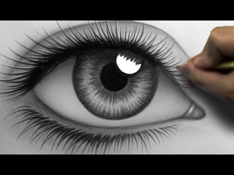 Drawn eye A Realistic (Time (Time Eye