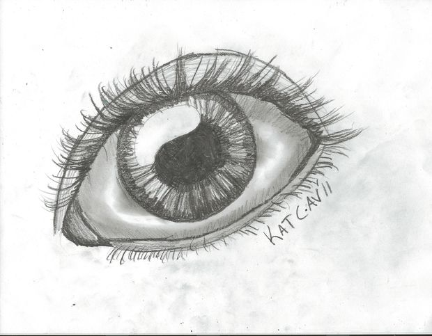 Drawn eye An 15 How Steps Draw