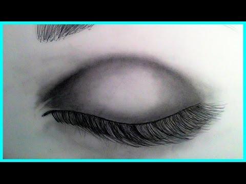 Drawn eye closed From Search A Realistic Eye