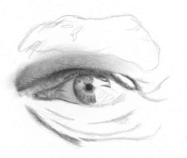 Drawn eye closed Drawing tutorial How Eyes drawing