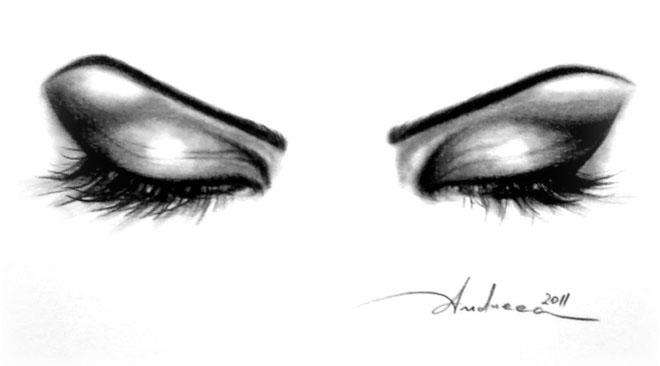 Drawn eye closed Drawings Eyes Tumblr Art