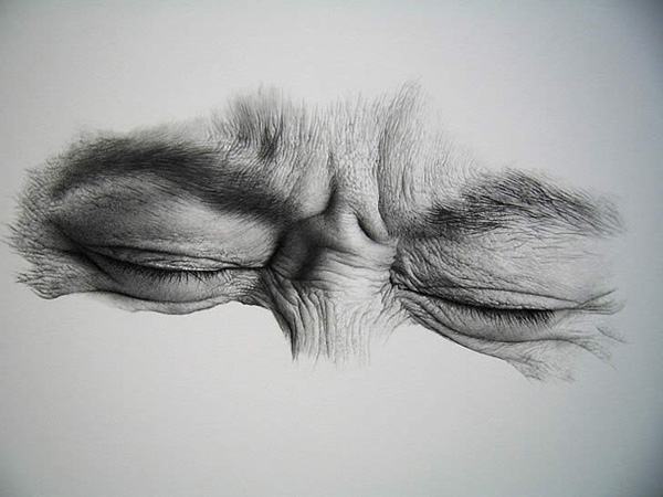 Drawn sad realistic 30 of Eyes and Expressive