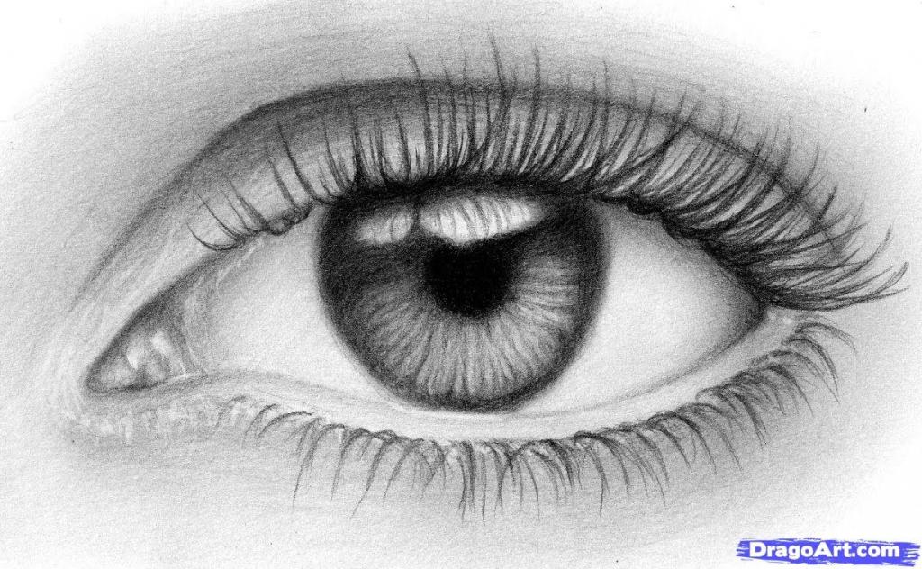 Drawn eye detailed #8