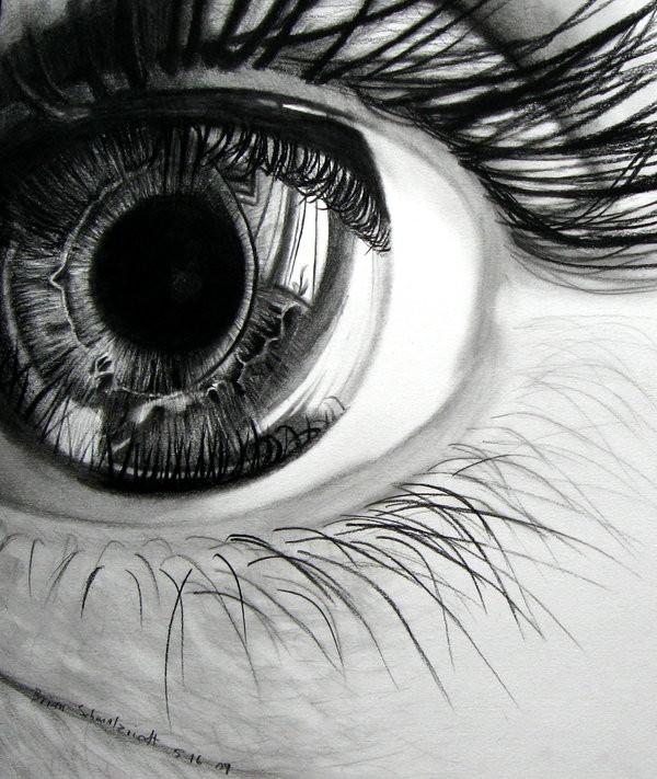 Drawn eye detailed #10