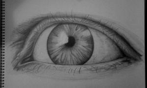 Drawn eye detailed #6