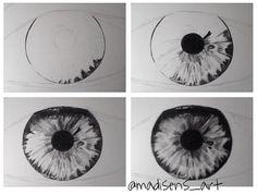 Drawn eye detailed #7