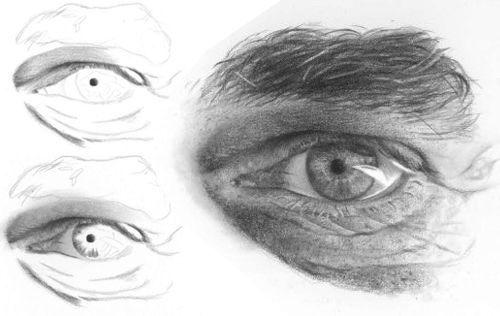 Drawn eye detailed #15