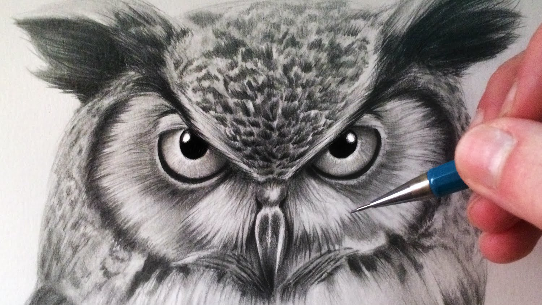 Drawn smoke eagle To Owl  Draw an