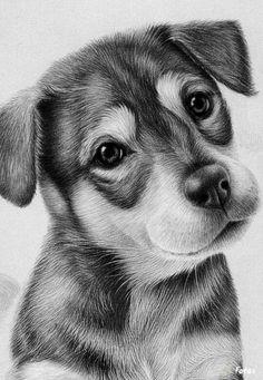 Drawn puppy sunset Dog Drawings Bildergebnis Coloring In