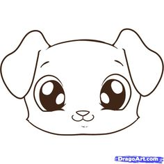 Drawn animl cute puppy Drawings Of  art and