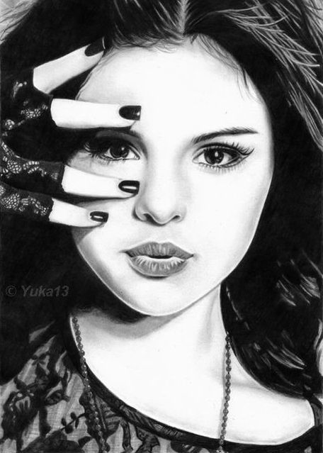 Drawn braid selena gomez IS IS GOOD! Selena Gomez