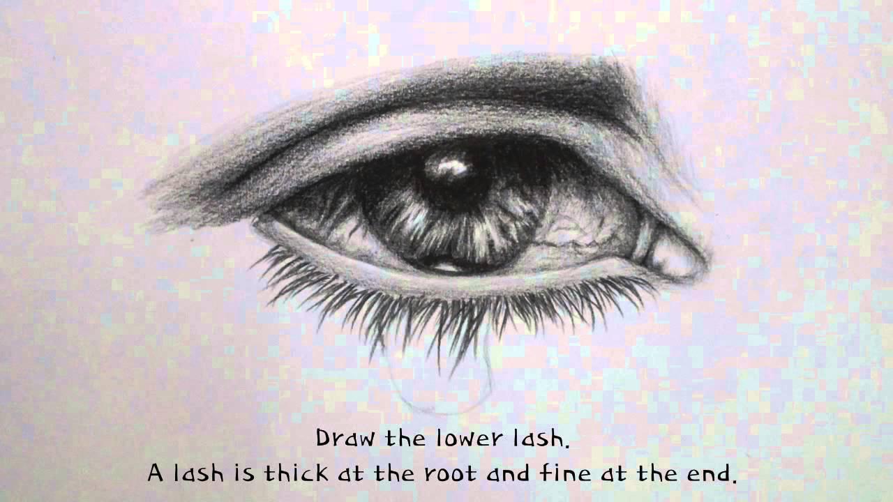 Drawn tears teardrop DRAWING YouTube TEARDROP  TUTORIAL