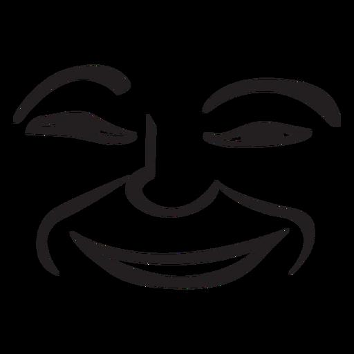 Drawn smile hand drawn Emoticon Smile PNG emoticon png