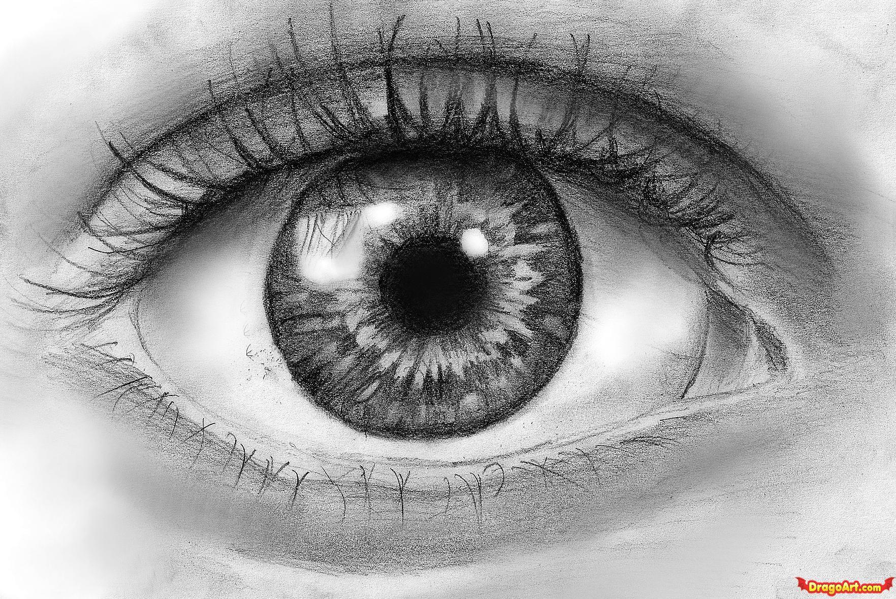 Drawn eyeball  eye DESIGN draw 6