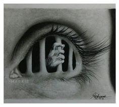 Drawn eyeball artistic eye Sketch Eyes charlottexbx drawing art