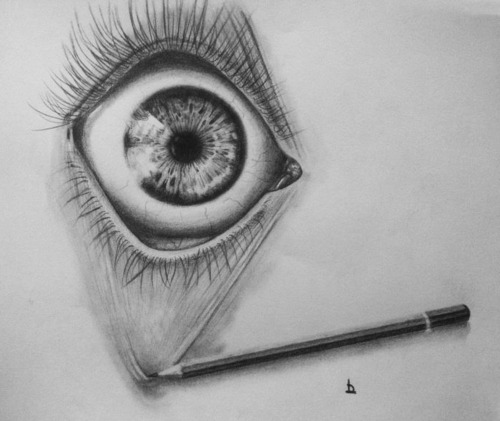 Drawn eyeball artistic eye The and love your pulling