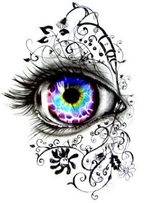 Drawn eyeball artistic eye ArtFantasy amaizng it's Drawings best