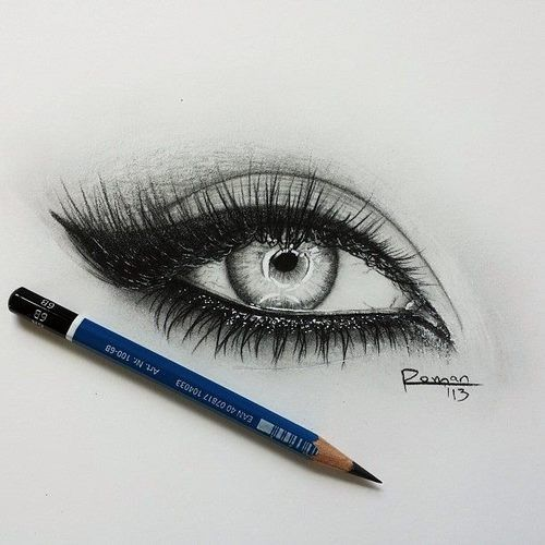 Drawn eyeball artistic eye EyesDrawing about on images 234
