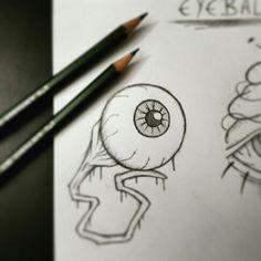Drawn eyeball artistic eye Senf MoviesArtist ideas Eyeball Pinterest