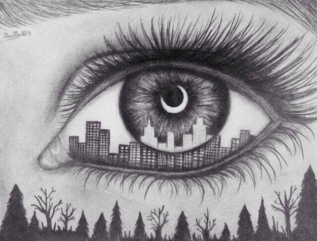 Drawn eyeball artistic eye Of Best on art ArtDrawings