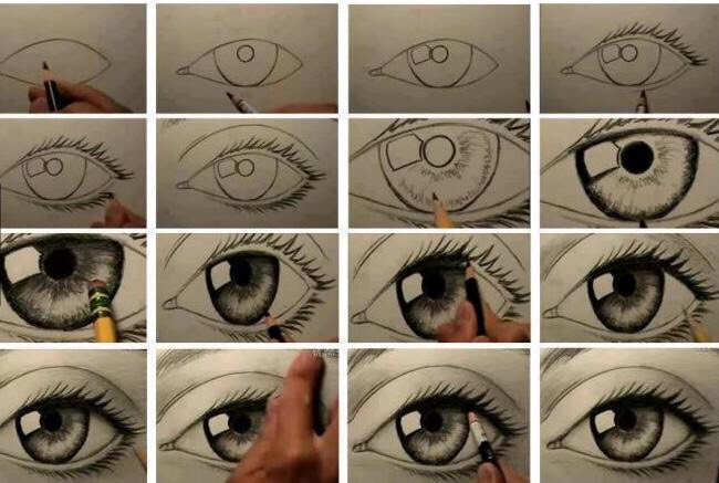 Drawn eyeball big eye Musely Eyes Draw to How
