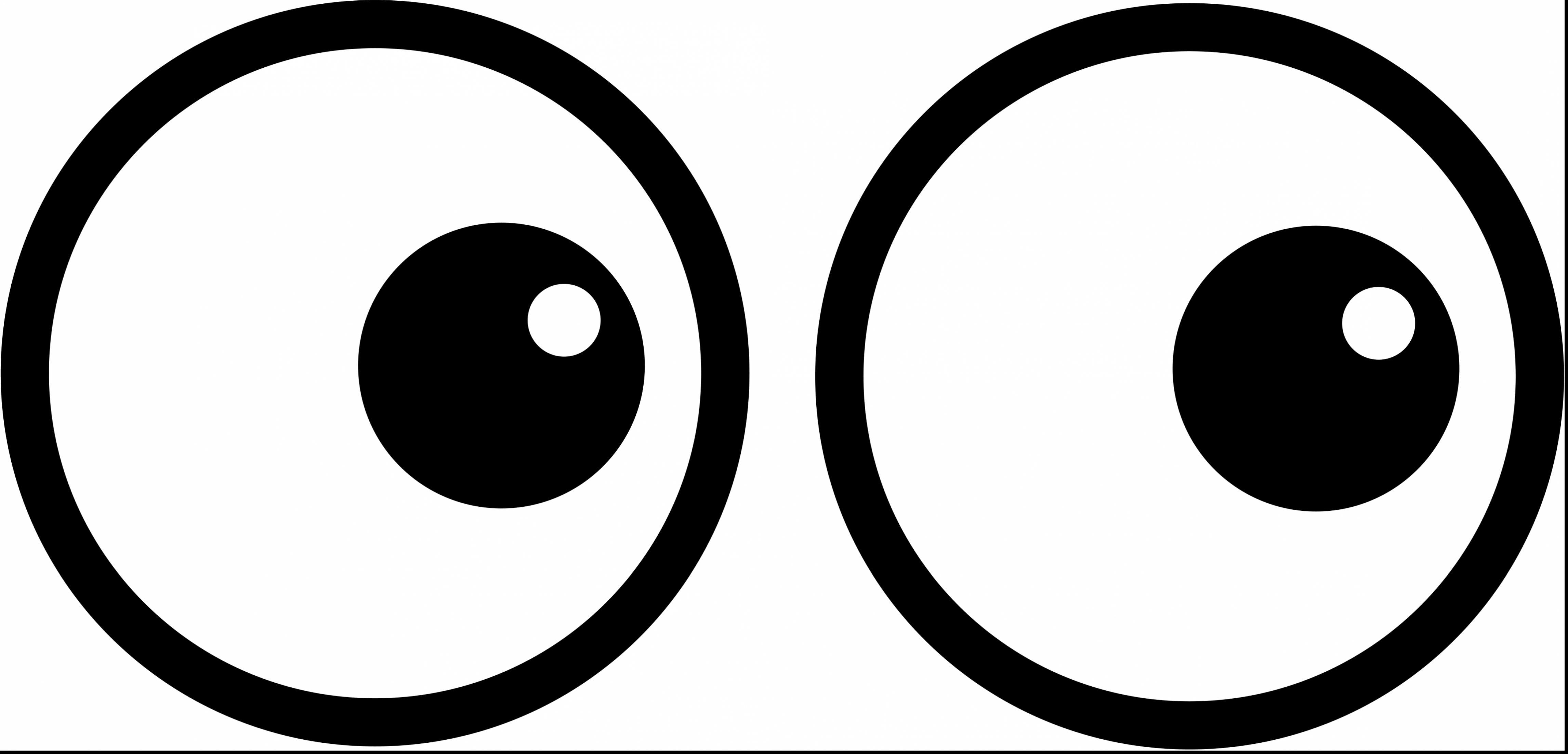 Drawn eyeball big eye Simple coloring pages  coloring