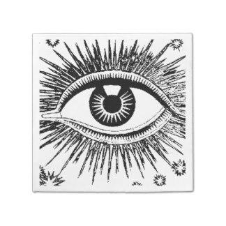 Drawn eyeball big eye Eyeball Halloween ICU Eyeball Napkin