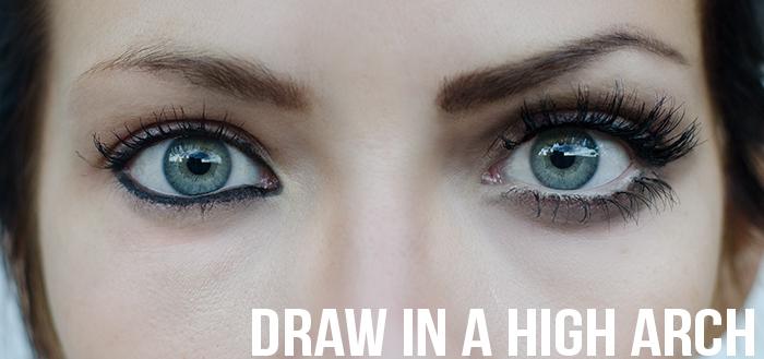 Drawn eyeball big eye Right on Maskcara The want