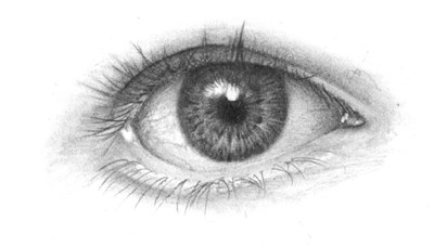 Drawn eyeball black and white Tutorials Drawing Drawing OnlyPencil tutorial