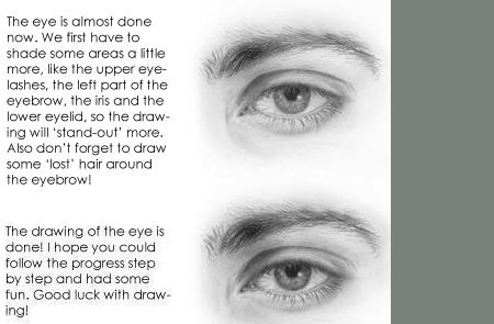 Drawn eyeball boy By by How Draw Eyes: