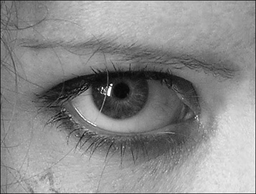Drawn eyeball charcoal Dk Zone  Eye Tutorial