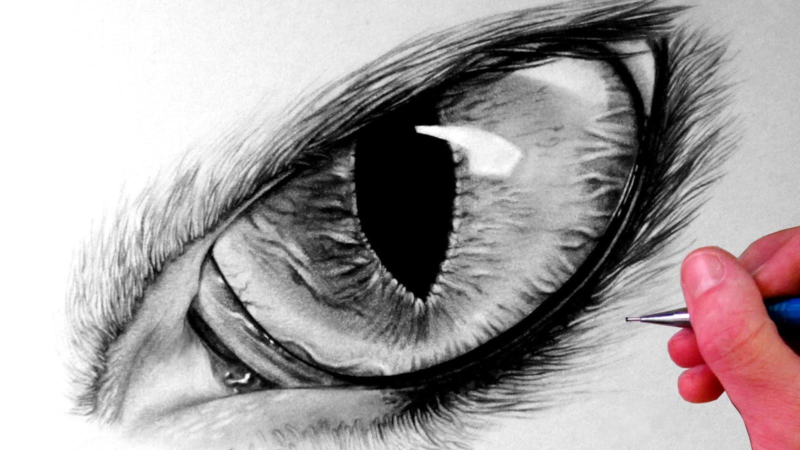 Drawn eye detailed #5