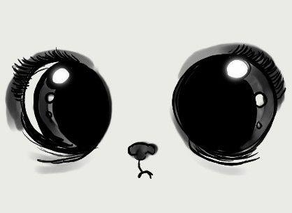 Drawn eyeball cute On Best face DrawingsEye white