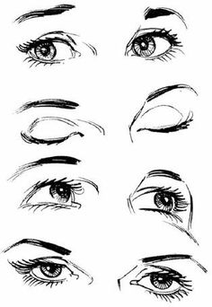 Drawn eyeball cute Tumblr  eyes drawing art