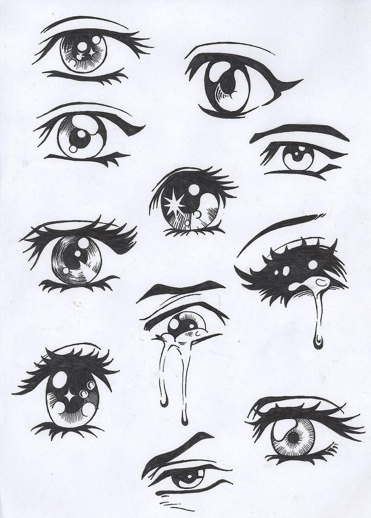 Drawn eyeball cute 25+ Draw Eyes People To