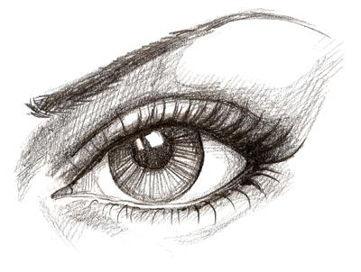 Drawn eyeball detail drawing Learn Drawing Draw Drawing