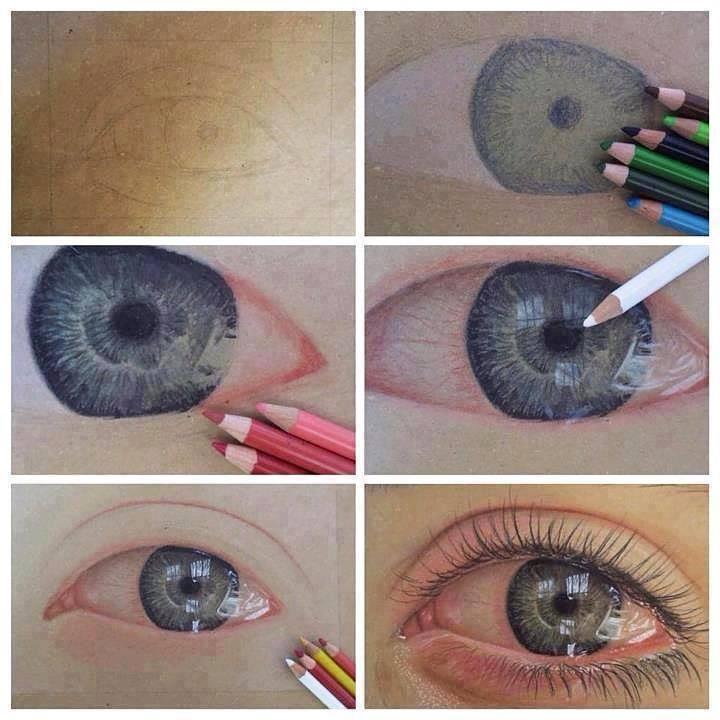 Drawn eyeball detail drawing Eye light How detail fab