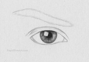 Drawn eyeball detail drawing How eye draw realistic a