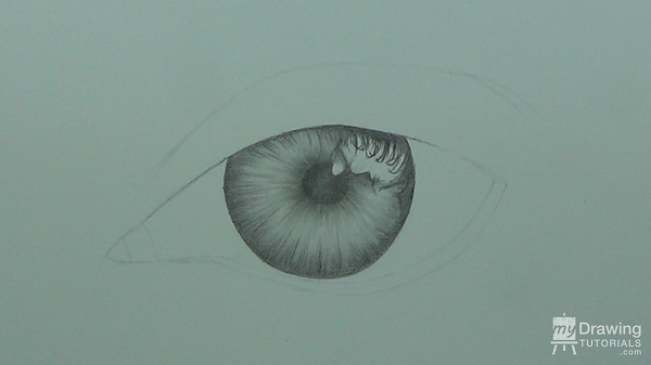 Drawn eyeball detail drawing Eye Art 4 Tutorials Drawing
