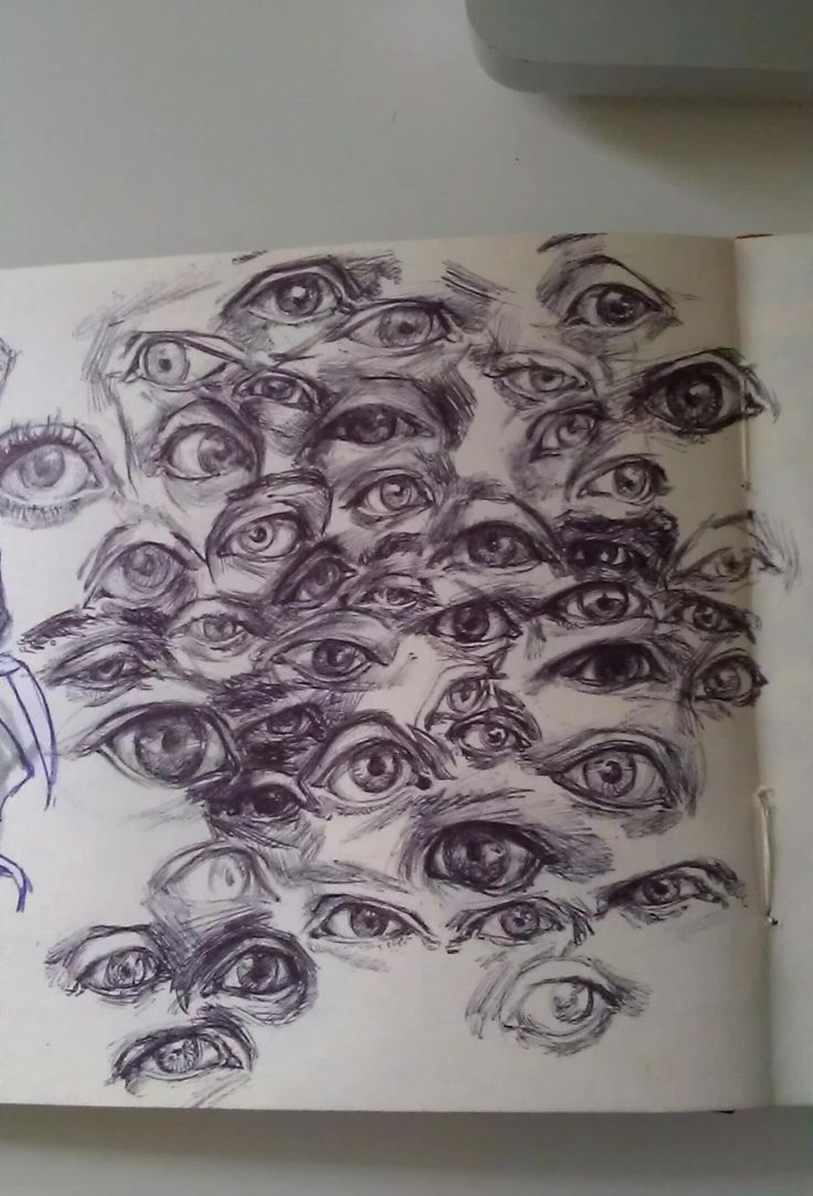 Drawn eyeball different eye About wrapping Eyes tumblr on