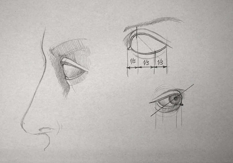 Drawn eyeball eyelid This Video Lesson Draw Drawing
