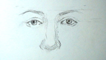 Drawn eyeball eyelid How a of To I
