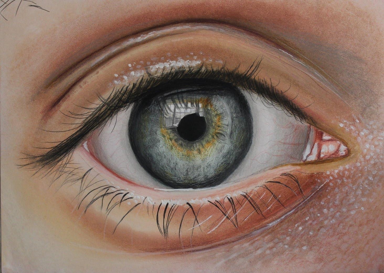 Drawn eyeball faber castell Polychromos faber Google vs