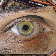 Drawn eyeball faber castell Twice Just for at