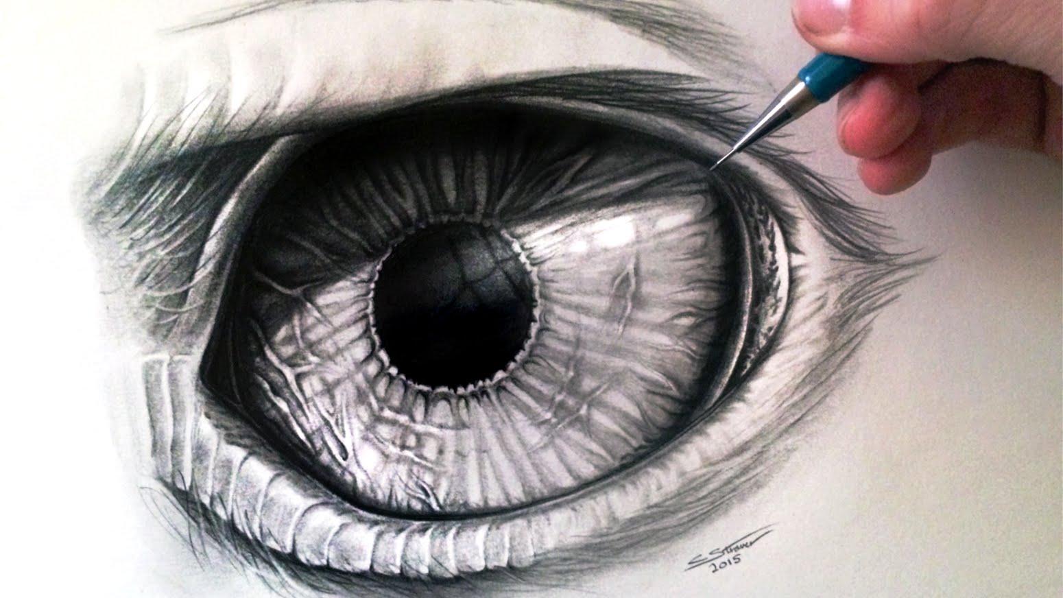 Drawn eyeball faber castell  Eagle Eye Draw How