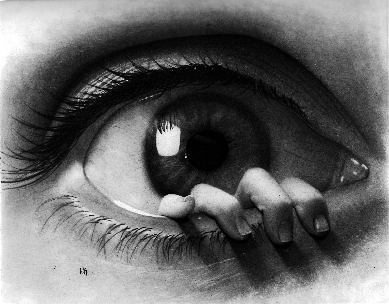 Drawn eyeball famous Surreal eye drawing DeviantArt hg